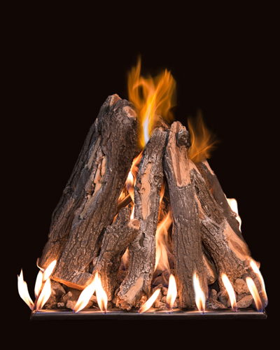 outdoor gas fireplace logs. Tee Pee Stack TPS 36 Fire Pits  Grand Canyon Gas Logs