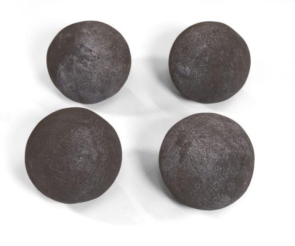 "6"" Cannon Balls Dark Gray"