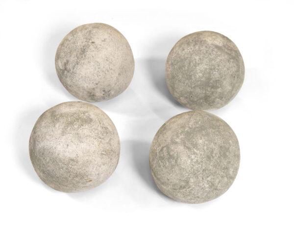 """6"""" Cannon Balls Silver"""